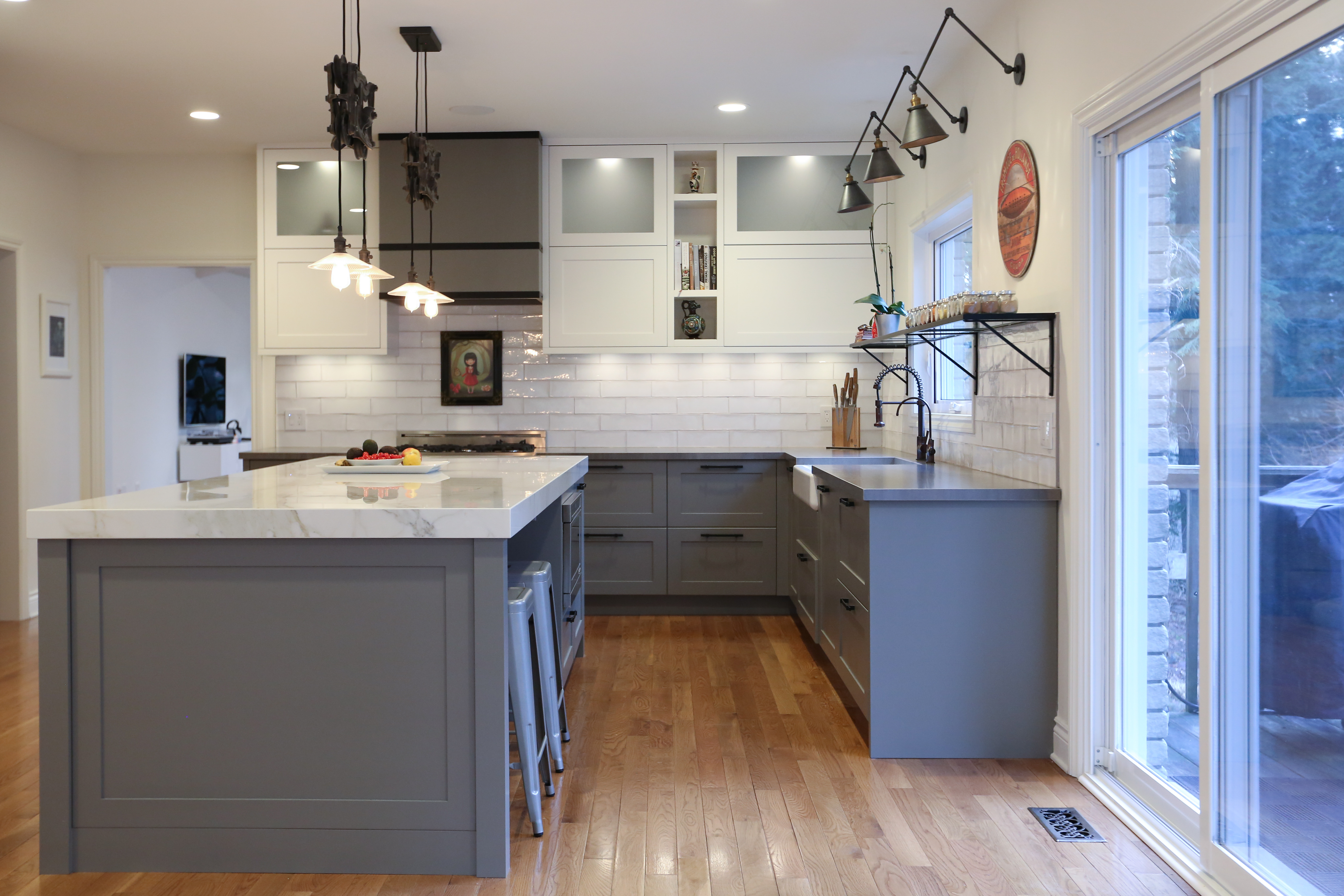 Greenwood Road Modern Cabinetry Design Muti Kitchen And Bath Toronto And Oakville