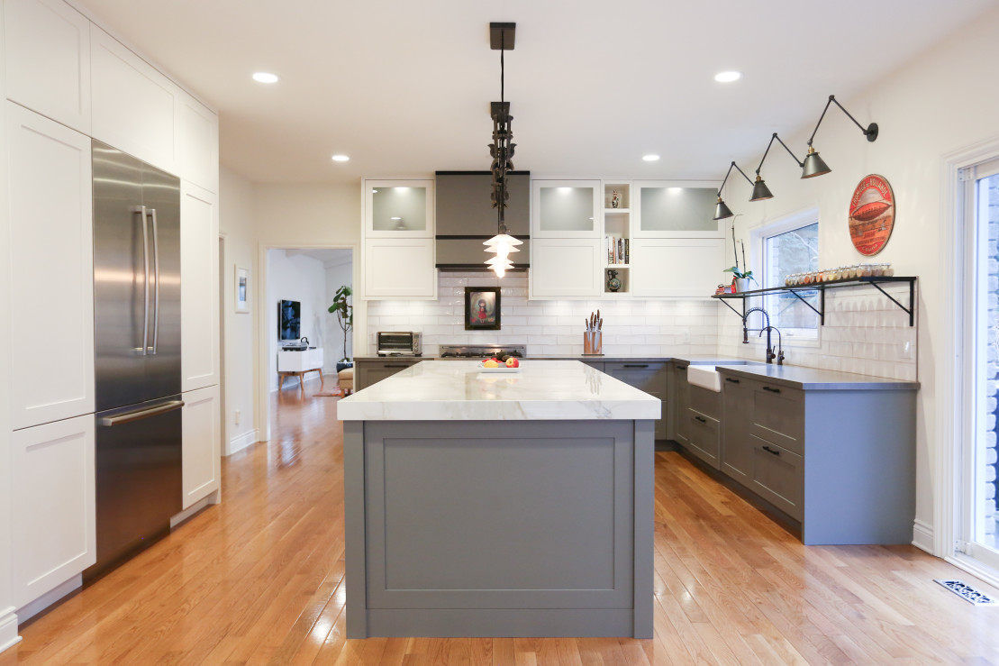 Greenwood Road Modern Cabinetry Design Muti Kitchen And